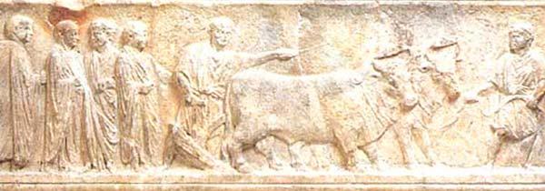 romulo remo fundacion roma