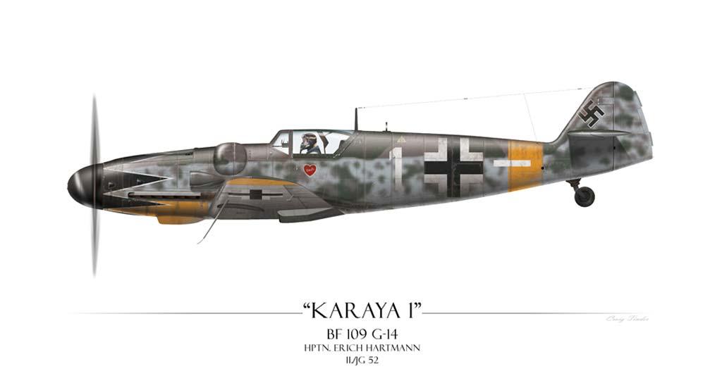 Messerschmitt Bf 109 Erich Hartmann