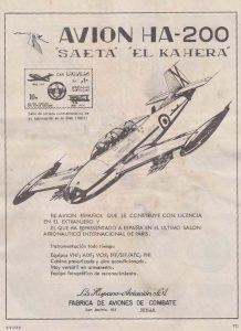 ha 200 publicidad hispano aviacion