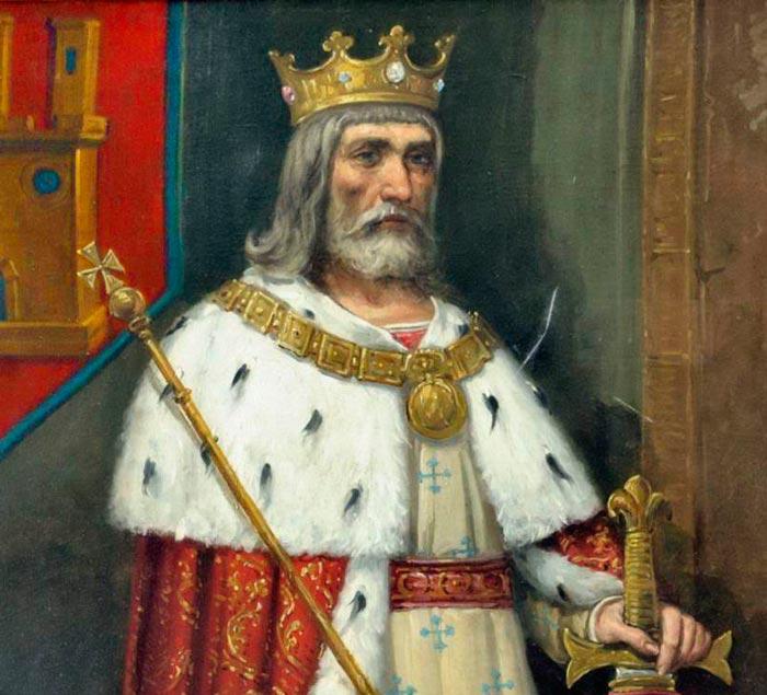 Alfonso VIII, rey de Castilla que estuvo a punto de morir en Alarcos.