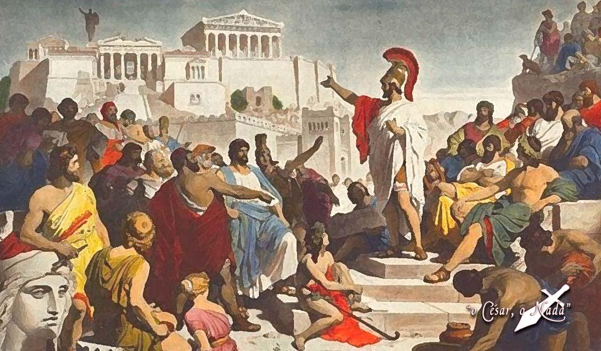 politica en Esparta