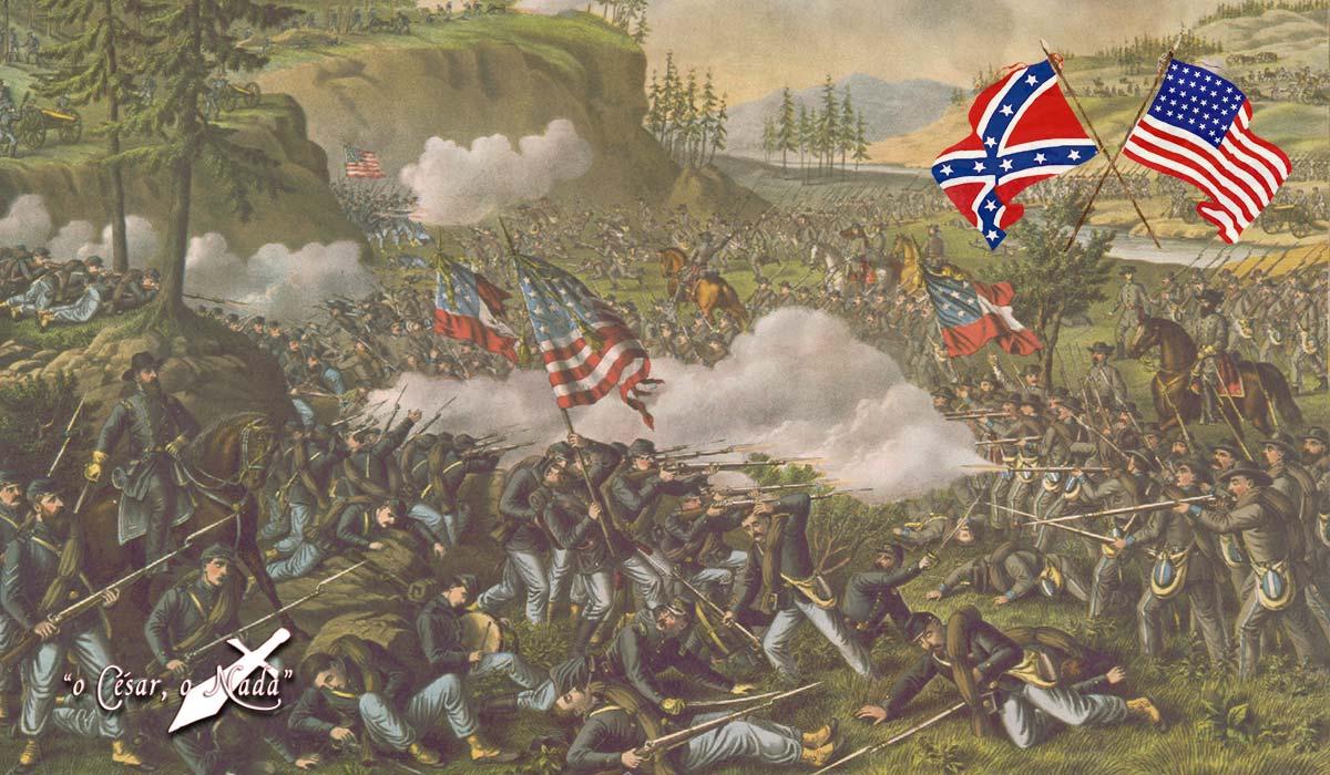 guerra de secesion americana