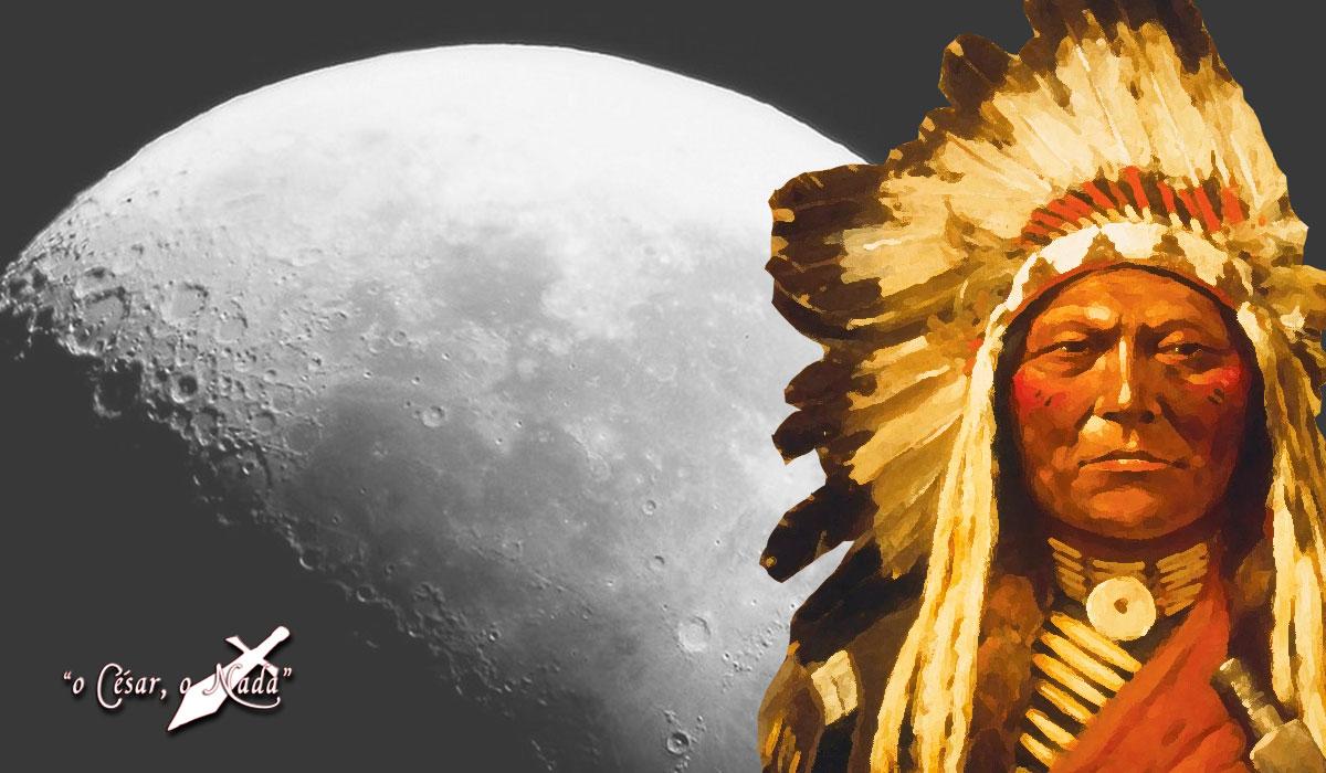 El aviso indio a la luna