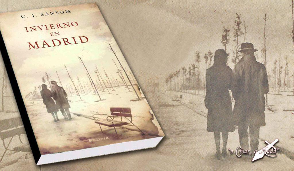 invierno en madrid novela sansom