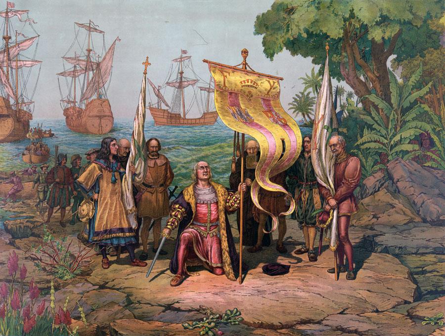 Cristobal Colon llega a Punta Cana