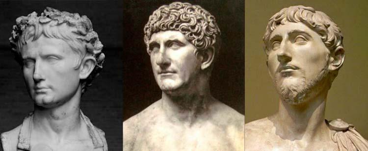 Triunvirato Octavio Augusto Marco Aurelio Lepido