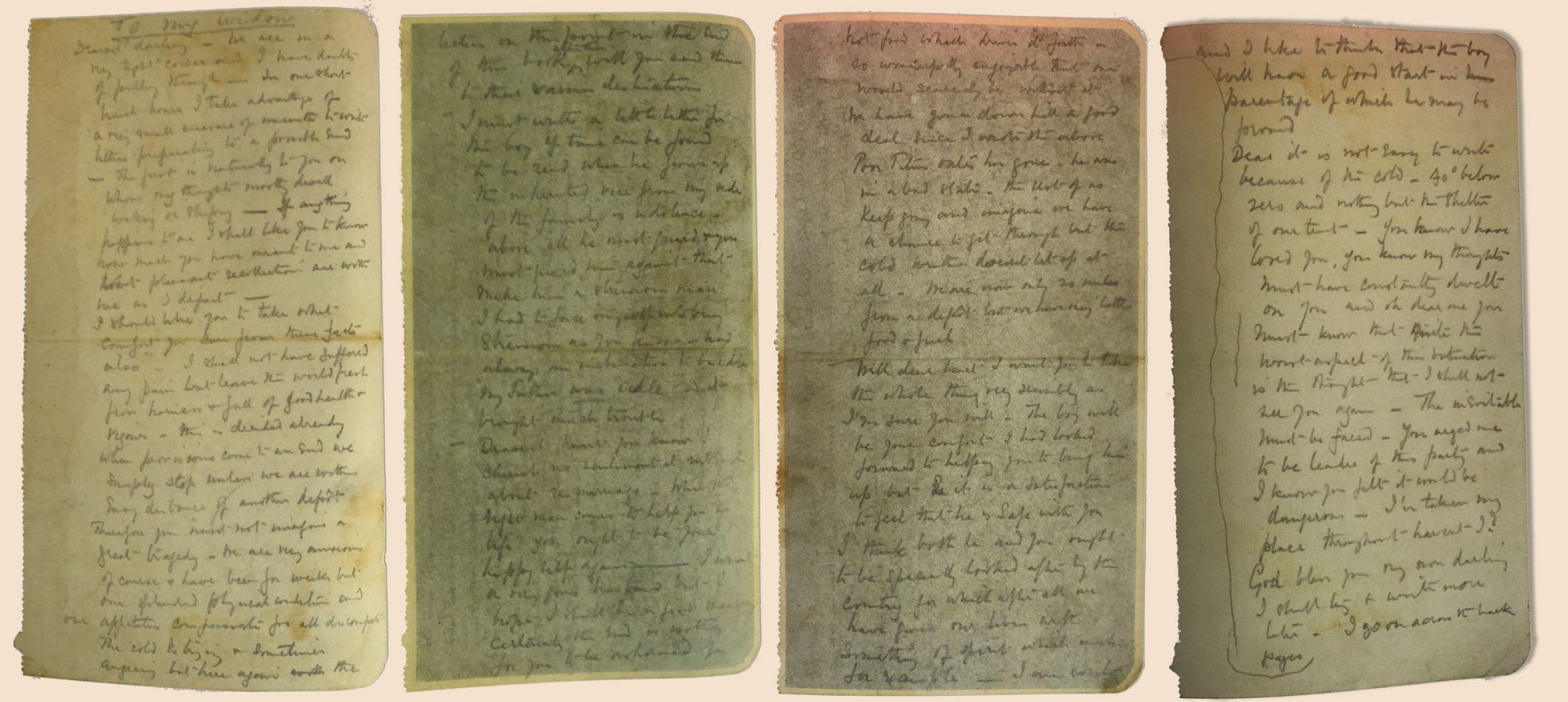 Carta de despedida de scott