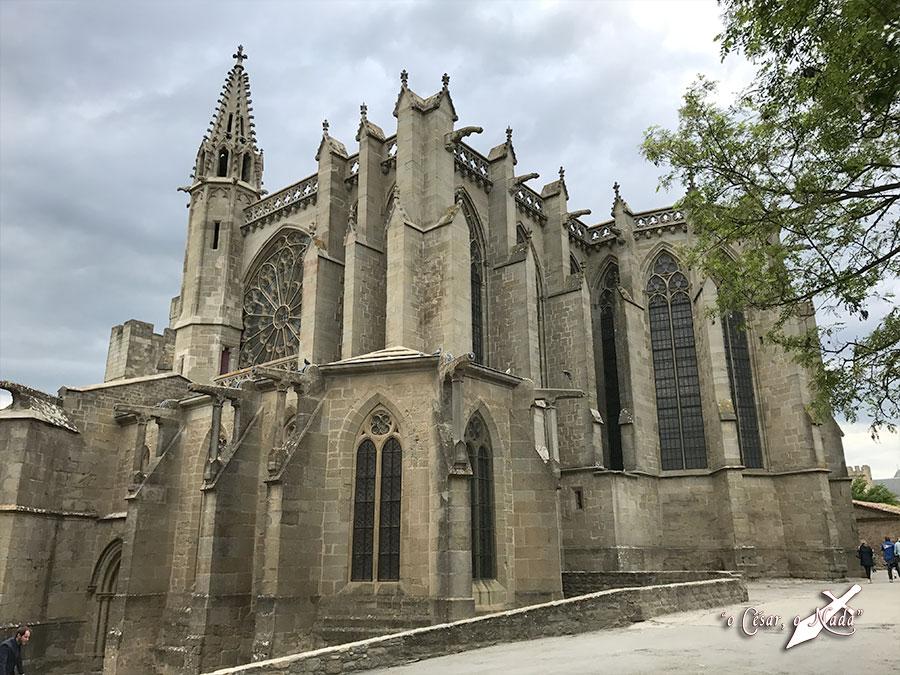 basilica saint nazaire carcasona carcassonne