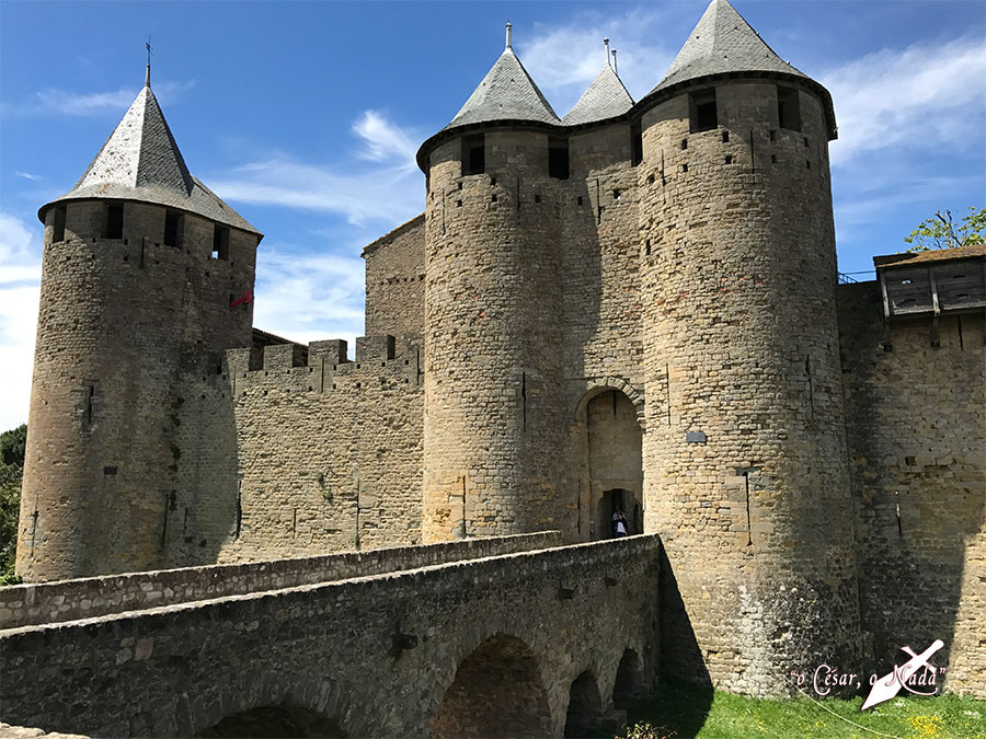 castillo carcasona carcassonne