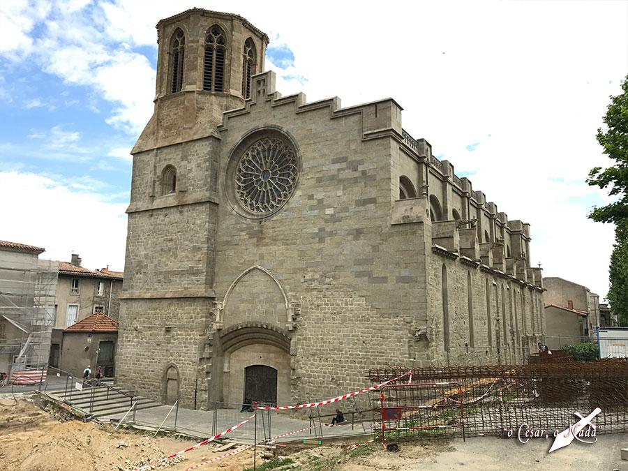 catedral carcasona carcassonne