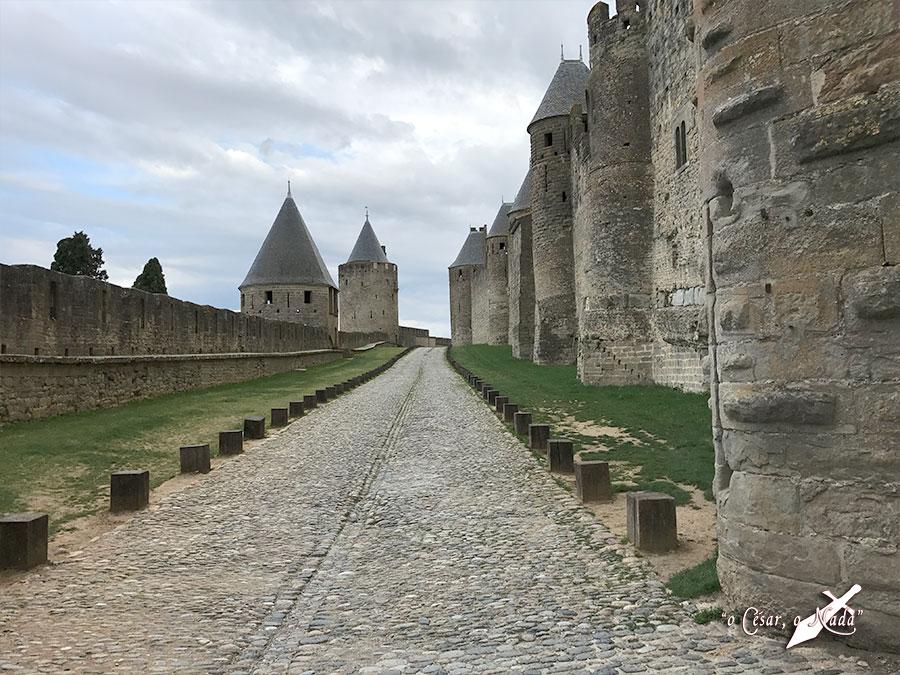 liza doble muralla carcasona carcassonne