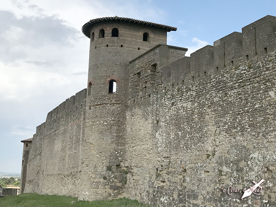 muralla galo romana carcasona carcassonne