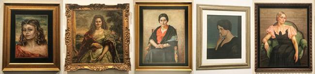 retratos giorgio de chirico