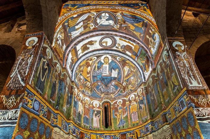 San Clemente de Tahull arte romanico