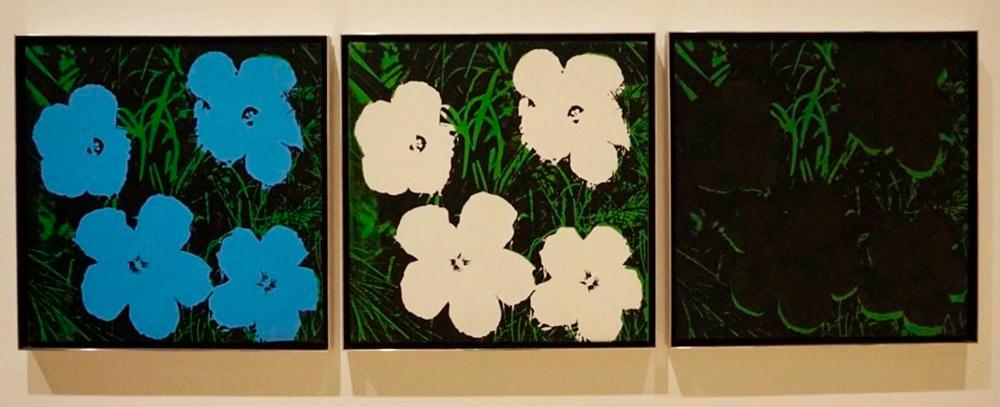 andy warhol flores demanda