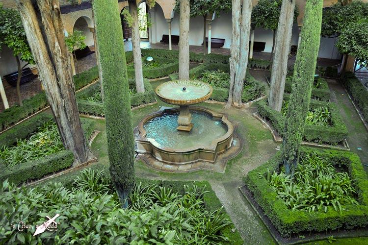 jardin musulman alhambra