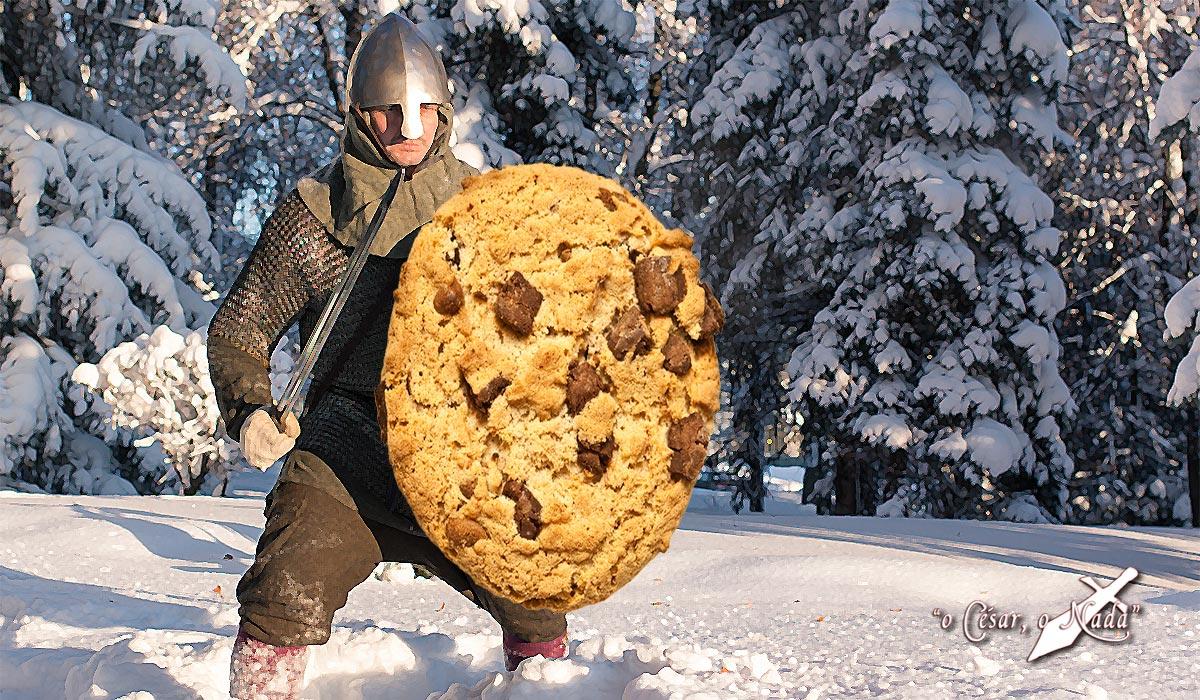 la batalla de las galletas