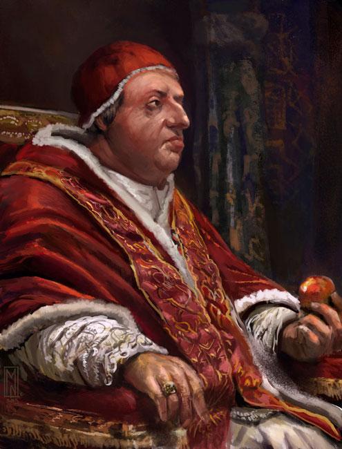 Los hijos del papa Rodrigo Borgia