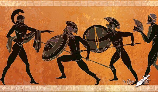 la guerra en grecia