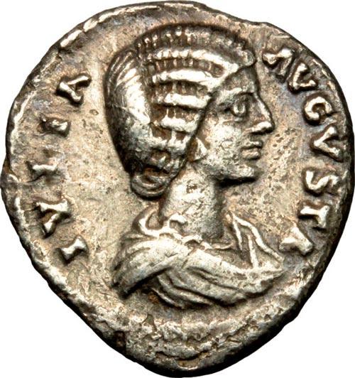 denario de julia domna