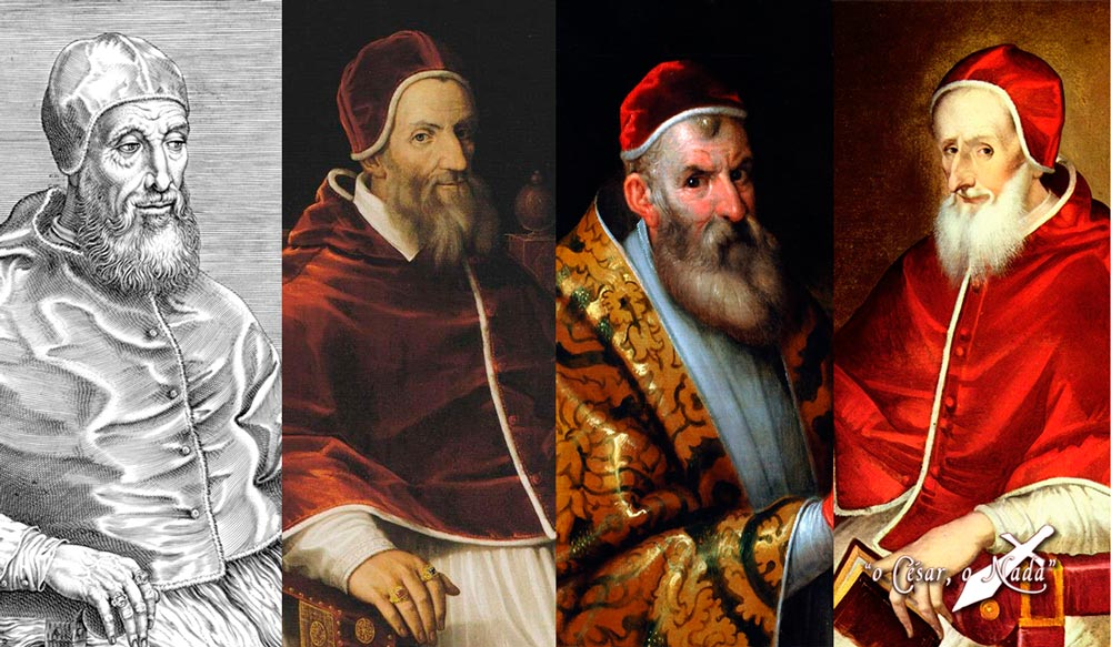 papas contra Felipe II