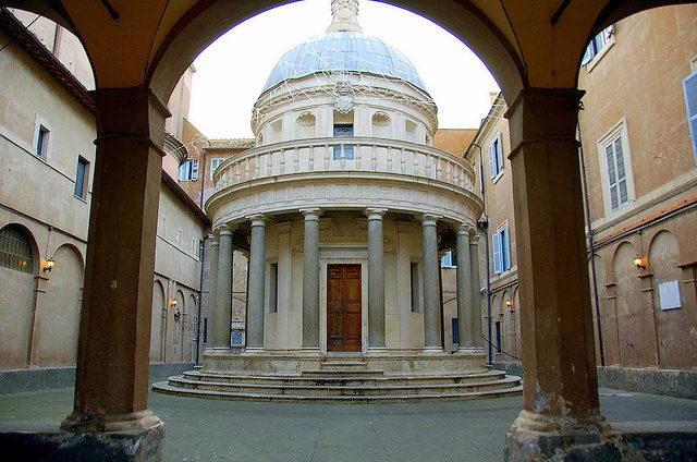 templete de san pedro roma