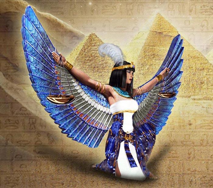 maat diosa de la verdad y justicia