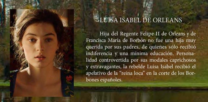 Cambio de reinas - Luis Isabel de Orleans