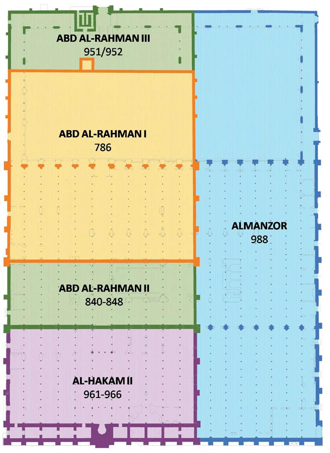 ampliaciones mezquita cordoba