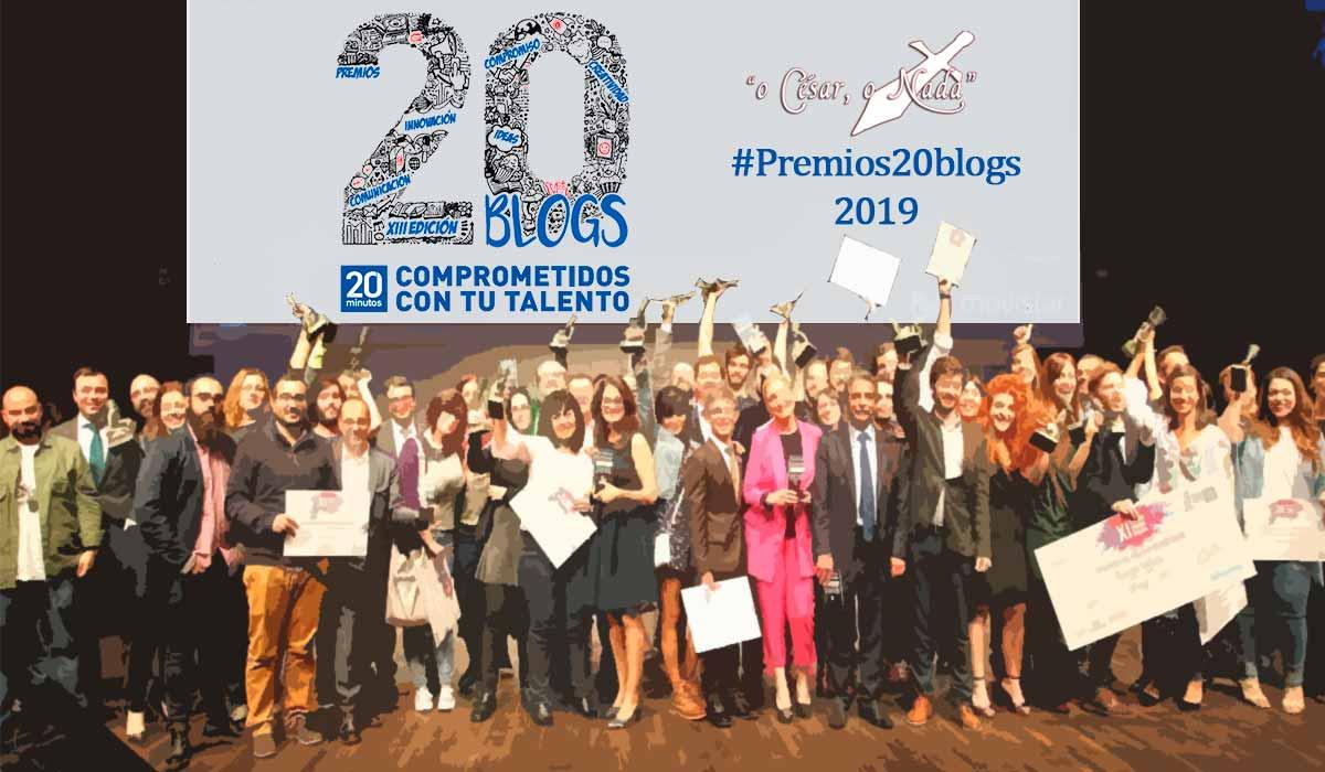 XIII premios 20blogs