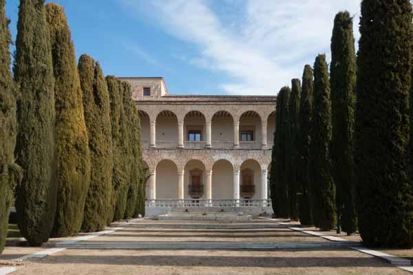 jardin del palacio del infantado
