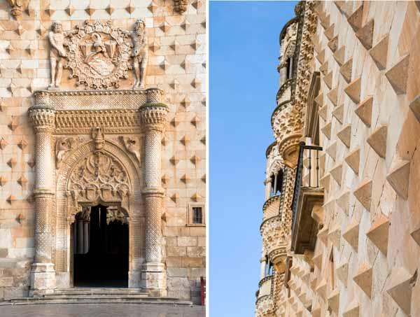 puerta portada palacio del infantado