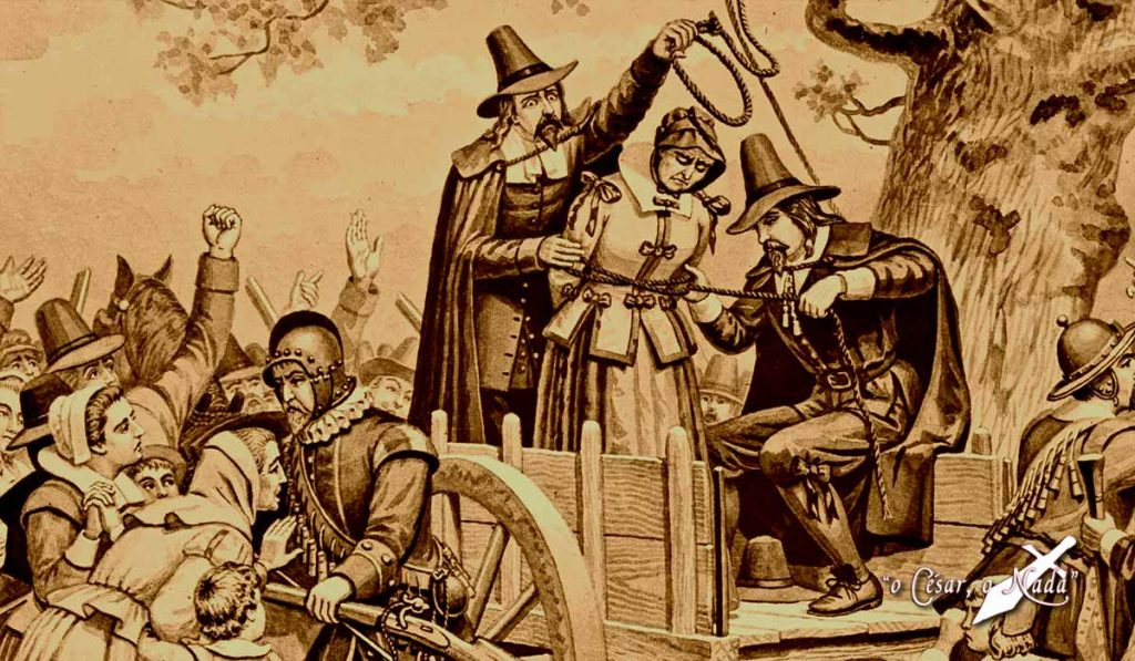 Matthew Hopkins, cazador de brujas.