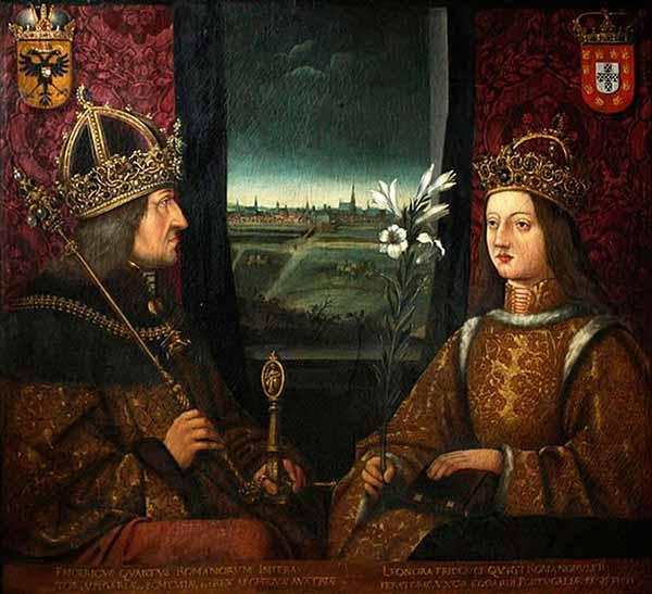 Federico III y Leonor de Portugal