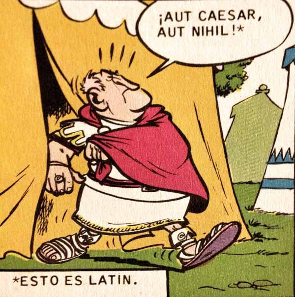 frase latina o cesar o nada