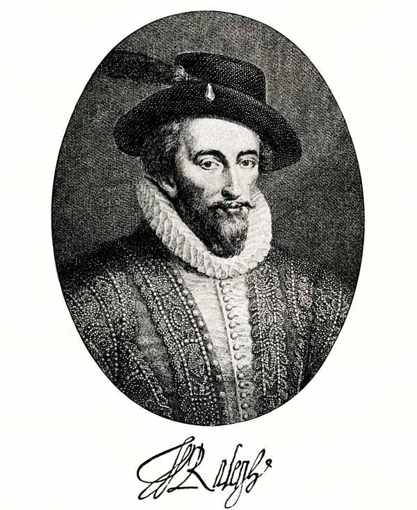 retrato walter raleigh