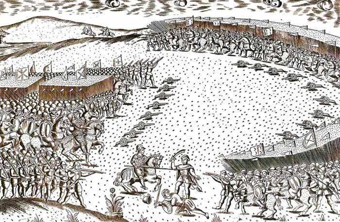 batalla de Alcazarquivir 1578