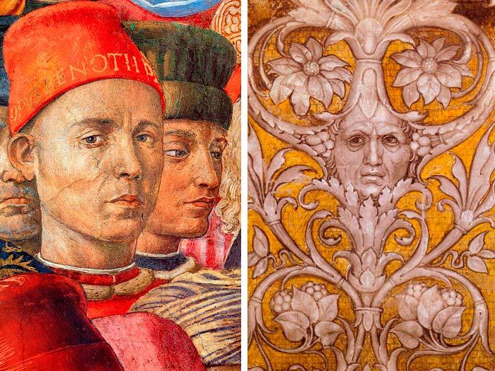 autoretrato gozzoli mantegna