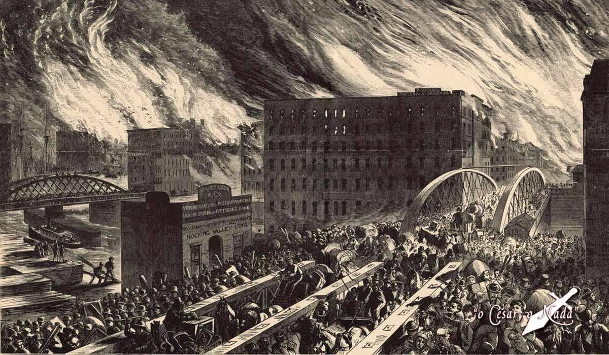 incendio chicago 1871 rascacielos