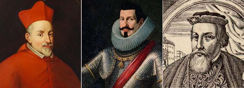 marques de bedmar, duque de osuna y marques de villafranca