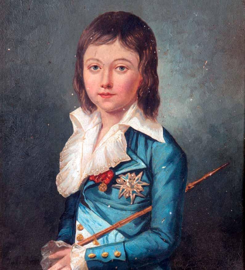 Luis Carlos de Borbón Luis XVII