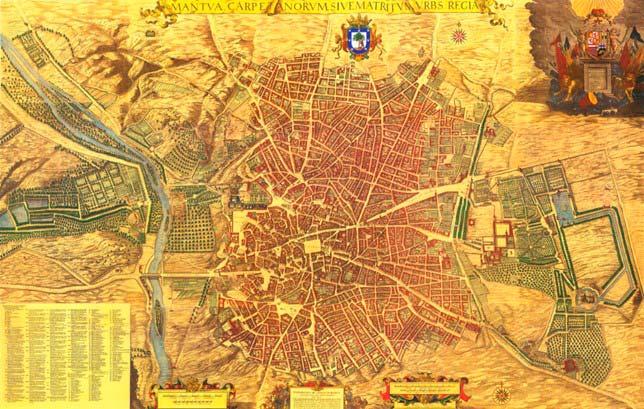 Plano de Madrid 1646