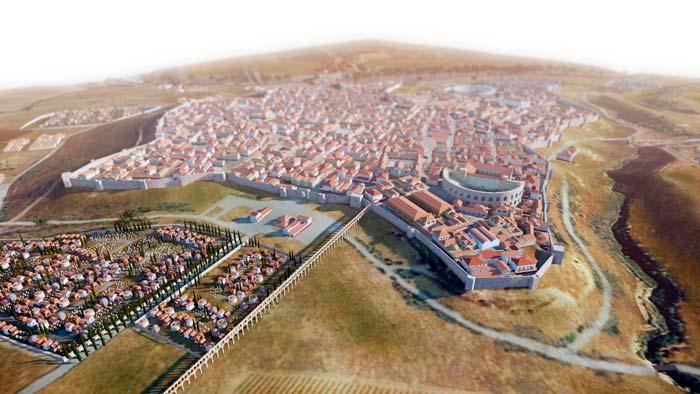 recreacion castulo romana linares