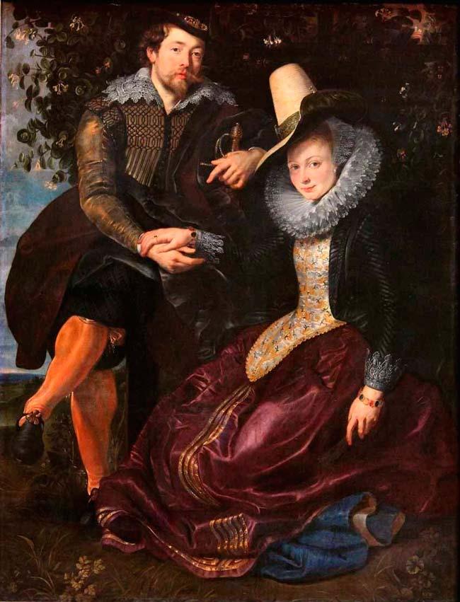 Autorretrato con Isabella Brant Rubens