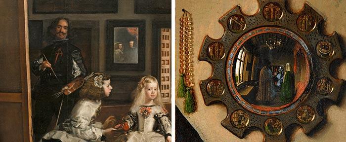 autorretratos velazquez van eyck