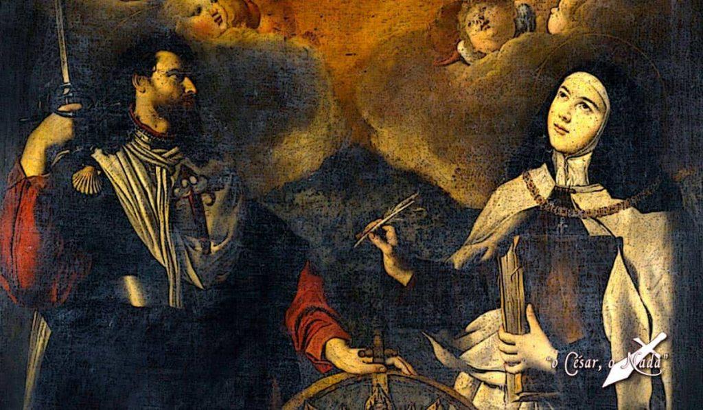 Santa Teresa Santiago patron de españa