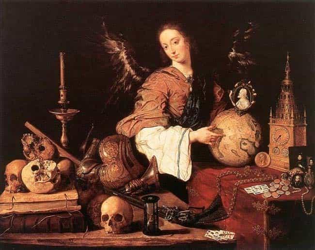 alegoria de la vanidad museo de viena