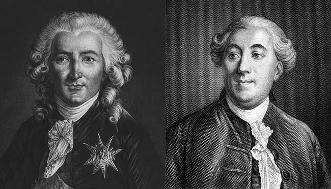 Charles Alexandre de Calonne y Jacques Necker