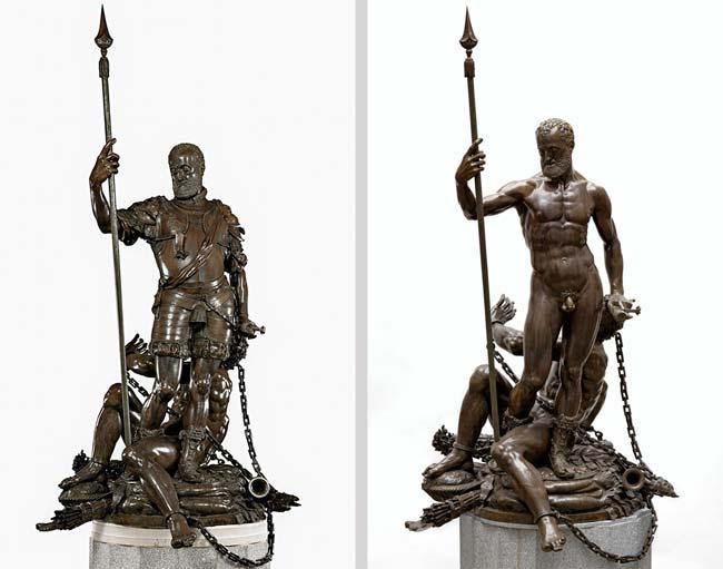 escultura carlos v