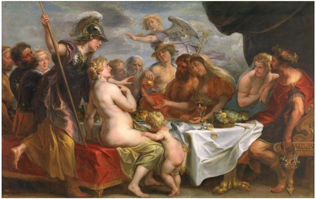 manzana de la discordia bodas Tetis Peleo